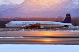 Dawn Departure from Anchorage, Alaska