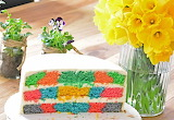 Colorful slice @ Balkanize Your Kitchen