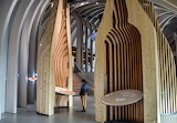 Bordeaux, France - The City of Wine Museum interior, travelbils