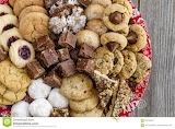 Holiday cookie & candy plate