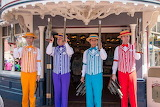 Dapper Dans ROTATION on Main Street, Disneyland CC0