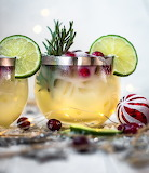 White Christmas Tequila Sour 2