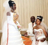 That cake is supposed to look like bride!