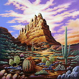 Superstition Mountains by Andy Russell