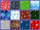 ☺ Collage- Snowflakes