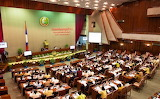 Laos National Assembly Room
