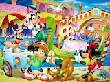 Mickey and the Gang in Italy