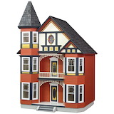 Colorful doll house 02