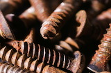 Rusty screws by Andy Davidson