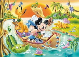 Mickey and the Crocodile