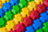 Colorful puzzle constructor