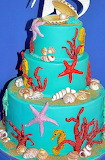 Under the sea cake @ Le torte decorate di Cetty G