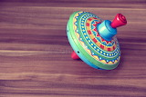 Spinning Top Toy ROTATION