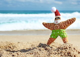 Christmas at the Beach Photo by Jessica Flickr