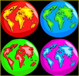 ☺♥ Colorful world...