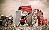 Hot-rod-car-red-classic-cars