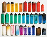 Colorful Junk Lighters