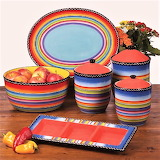 #Tequila Sunrise Dinnerware