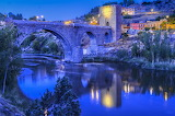 ☺♥ Medieval bridge of San Martin, Toledo, Spain...