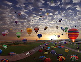 The Largest Hot-Air Balloon Gathering in the World...