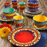 ^ Chili Verde dinnerware