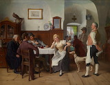 At the Tavern by Josef Kinzel
