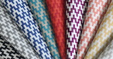 Colorful pattern fabric textile