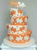 Rotate the puzzle cake by Barbara Aletter