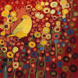 Birdy and flowers