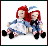 Timeless Dolls ~ Raggedy Ann and Andy