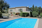 Rustic villa and pool in Provence, France