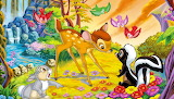 Colours-colorful-bambi-Disney-cartoon-painting