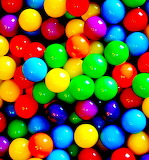 Brightest Rainbow Pinballs