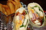 ^ Wraps with fries