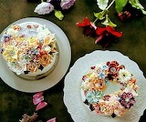 Rotate the flowery cakes @ Atelier Soo