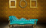 Beautiful wall and sofa set for home