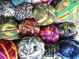 Multi-color Yarn Stash