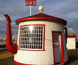 Tea pot gas station