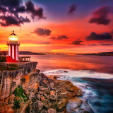 Lighthouse Sunset...