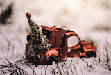#Christmas Toy Truck