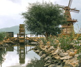 Windmill and Waterwheel - Photo from Piqsels id-omwcq