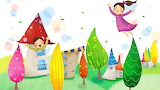 Colourful Kiddies Painting