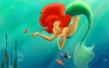 Ariel disney cartoon