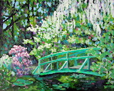Drawn wallpapers Paintings Painting Claude Monet - Virginia 0692