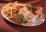 ^ Club Sandwich Plate Lunch
