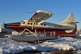 Katmai Air Turbo Otter at Lake Hood Anchorage Alaska