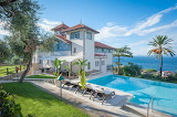 Amalfi coast luxury villa, pool and garden, Italy