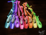^ Rainbow Pointe Shoes